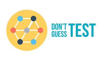 Don't Guess - Test logo