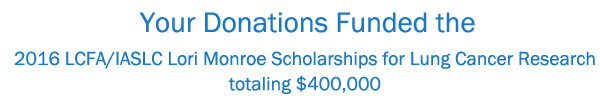 Donations funded banner