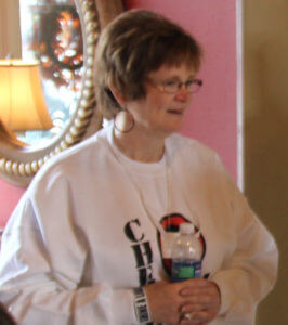 Fundraiser Nancy Huhn