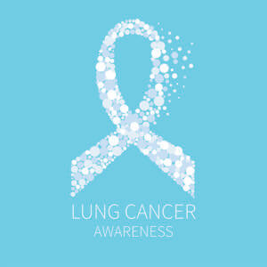 AdobeStock_123679065 Lung Cancer Awareness with ribbon copy
