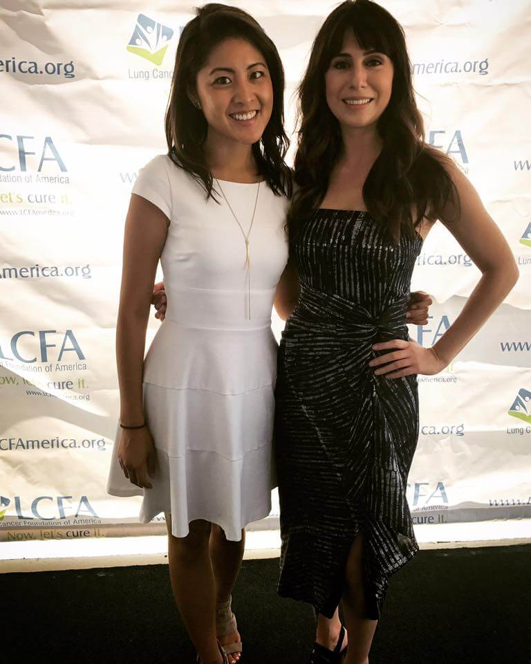 DATR Emcees Jessica Chen and Lindsey Pena