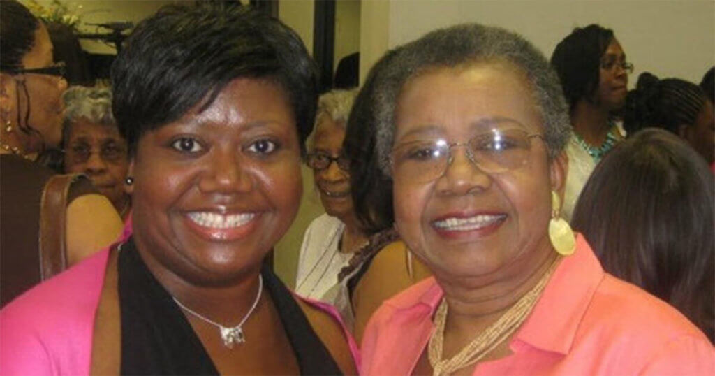 A Mother's Day Gift - Laronica with her mother Lillie
