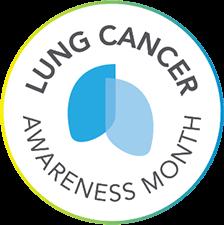 Lung Cancer Awareness Month logo