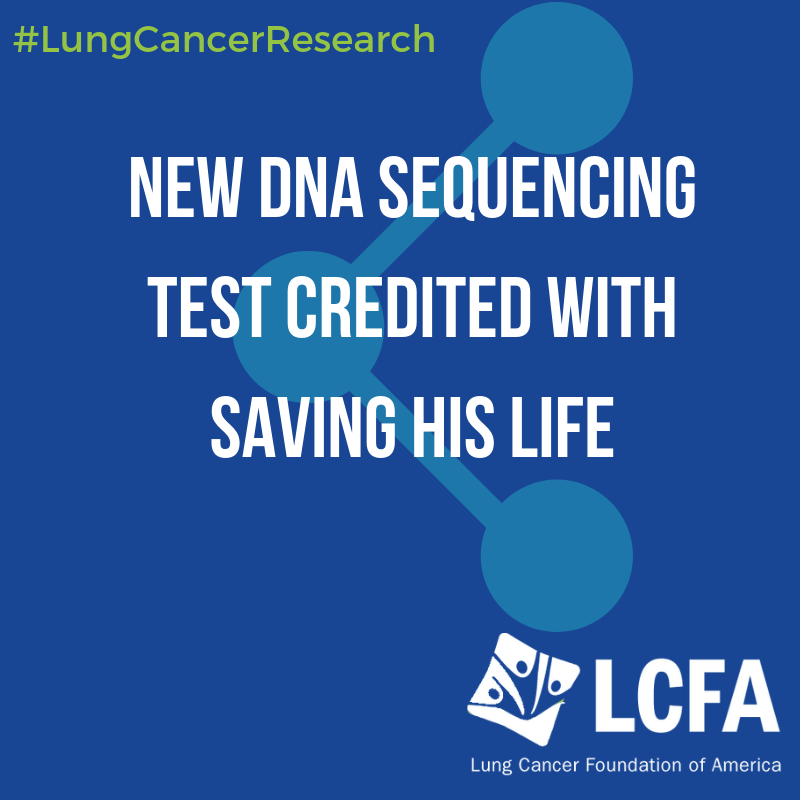 New DNA sequencing test credited with saving his life
