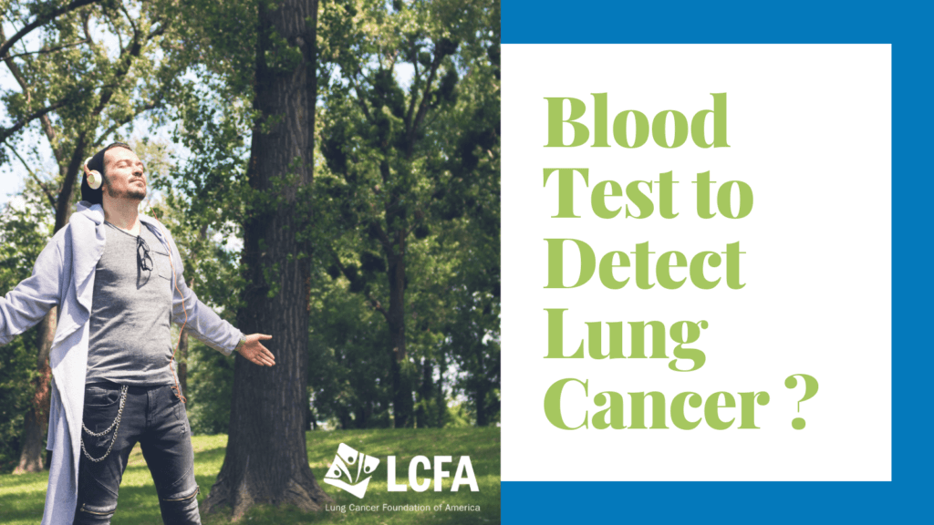 Blood test to detect lung cancer?