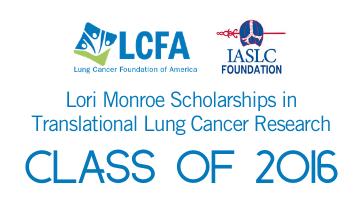 LCFA-IASLC Class of 2016