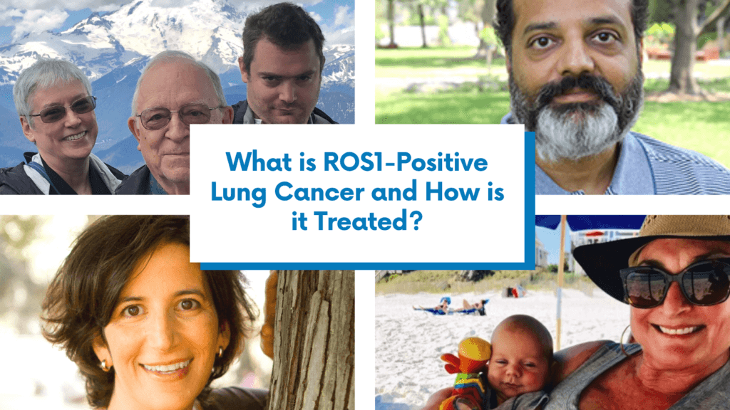 What is ROS1-Positive lung cancer and how is it treated?