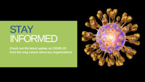 Stay informed about the Coronavirus (COVID-19) and lung cancer