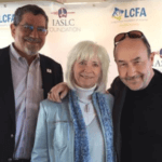 Dr. David Carbone, Kim Norris, and Jim Baranski