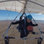 Yovana hang gliding