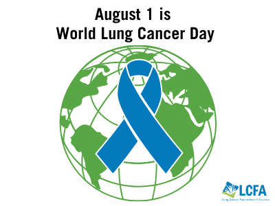 August 1 is World Lung Cancer Day