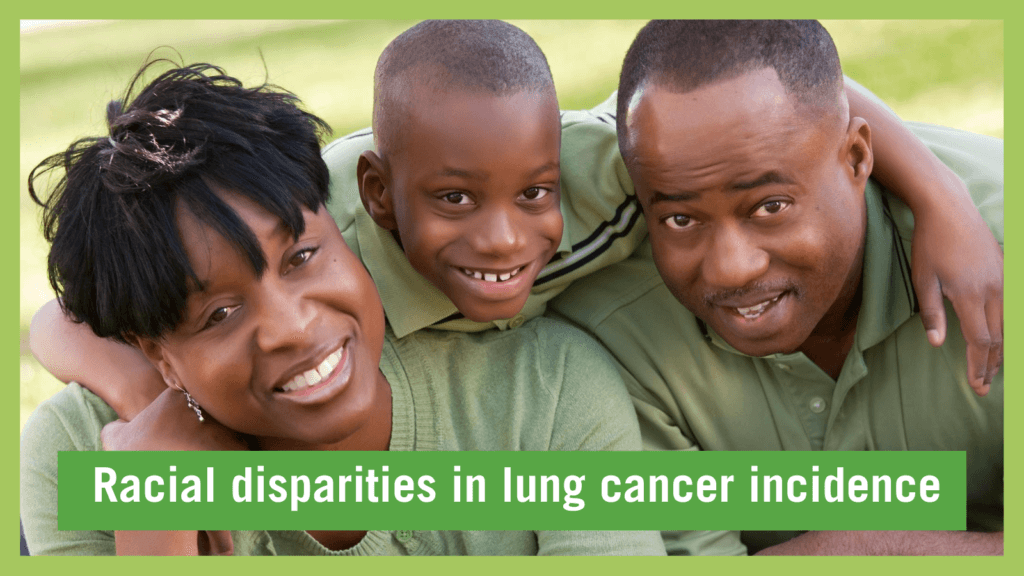 racial disparity in lung cancer incidence