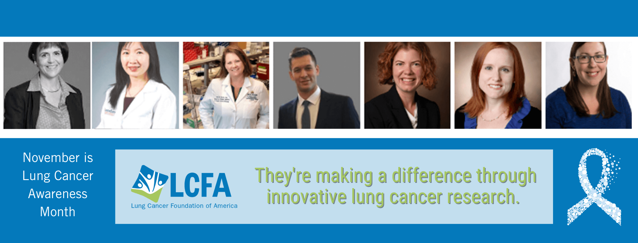 Photo of LCFA lung cancer grant researcher