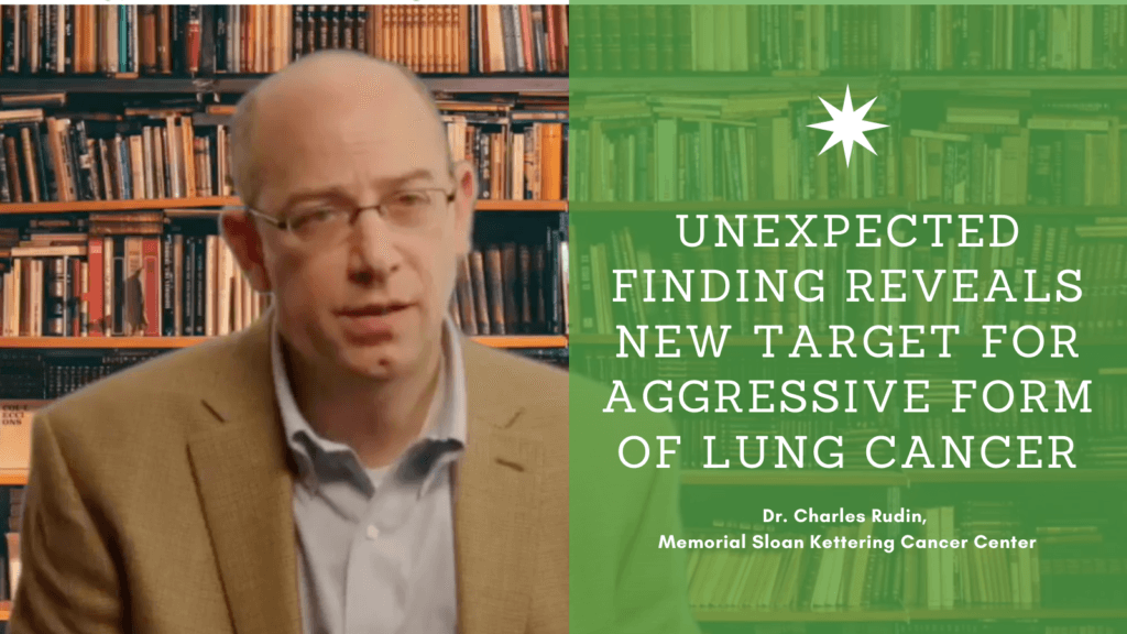 Unexpected Finding Reveals New Target for Aggressive Form of Lung Cancer