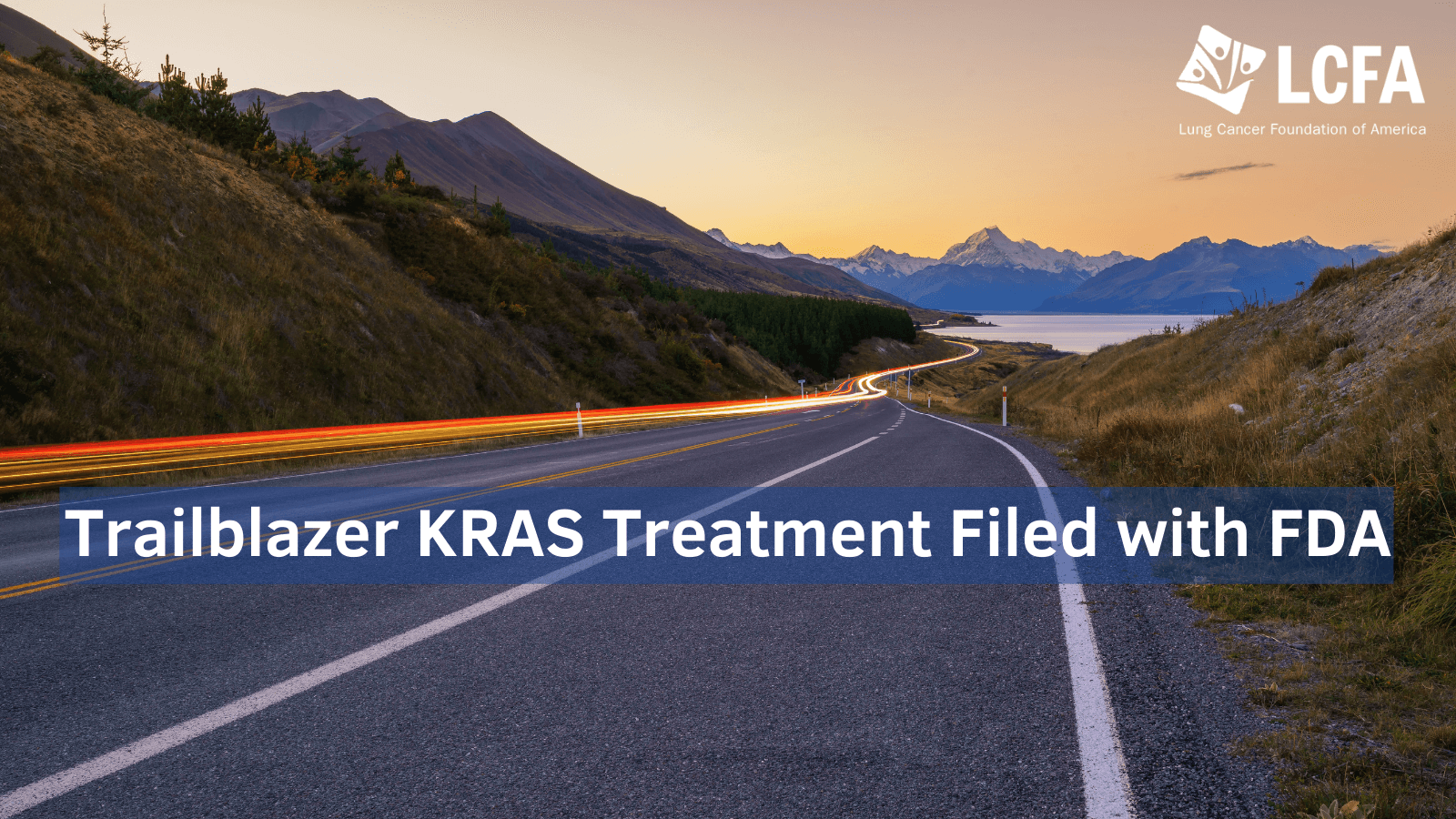 Trailblazer KRAS Treatment filed with FDA