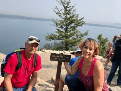 Amie Hyman living with lung cancer