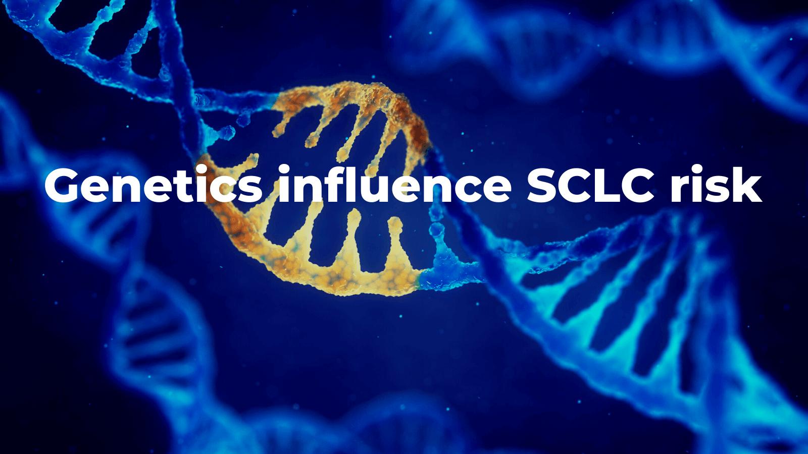 Genetics influence SCLC risk