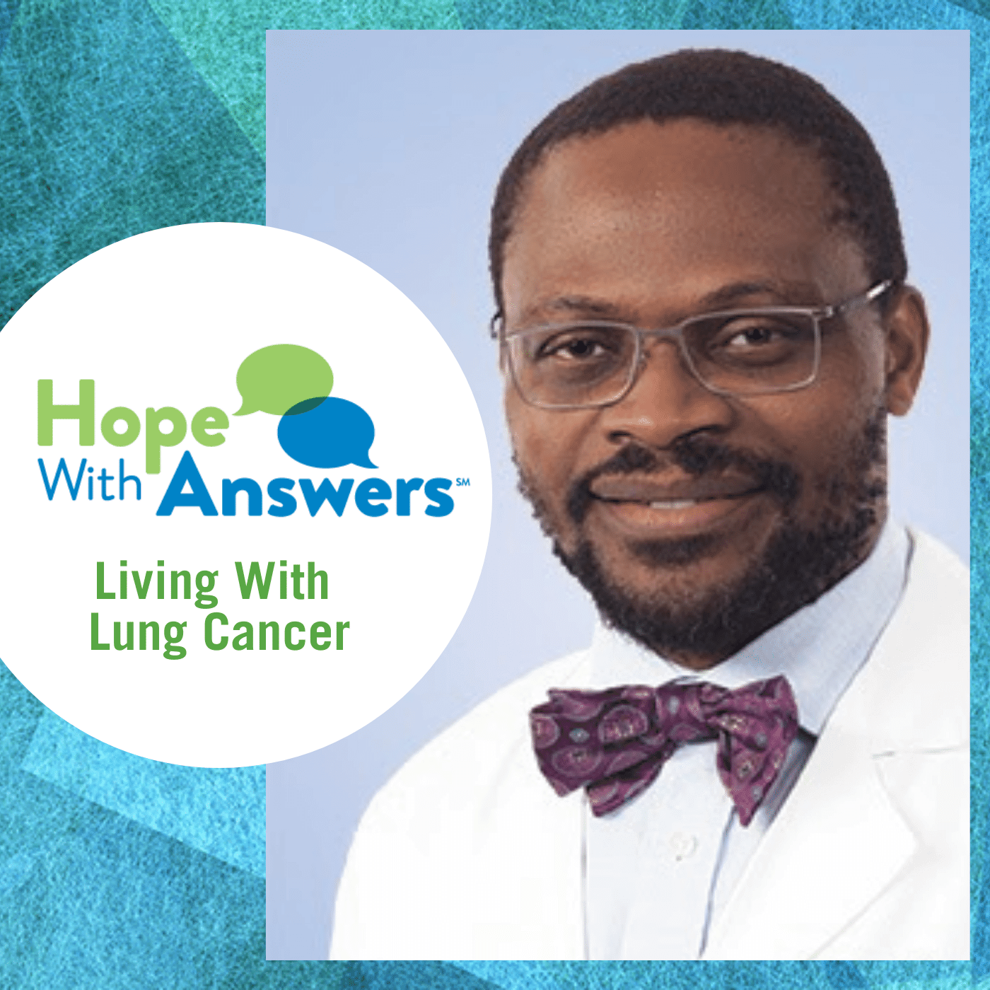 Dr Raymond Osarogiagbon guest on this podcast episode
