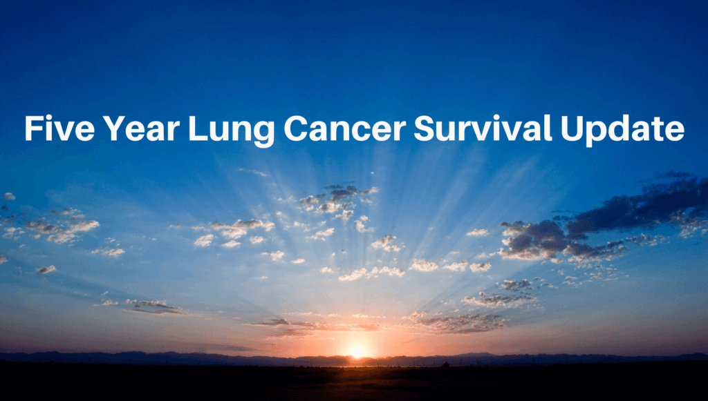 Five Year Lung Cancer Survival Update