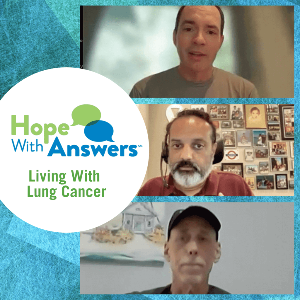 Episdoe 21-10 Men Living with Lung Cancer