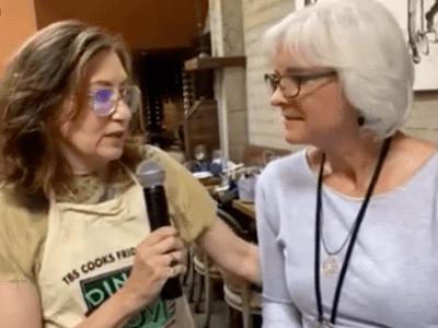 annabelle interviewing kim norris